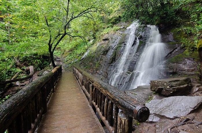 Juney Whank Falls Deep Creek Trail