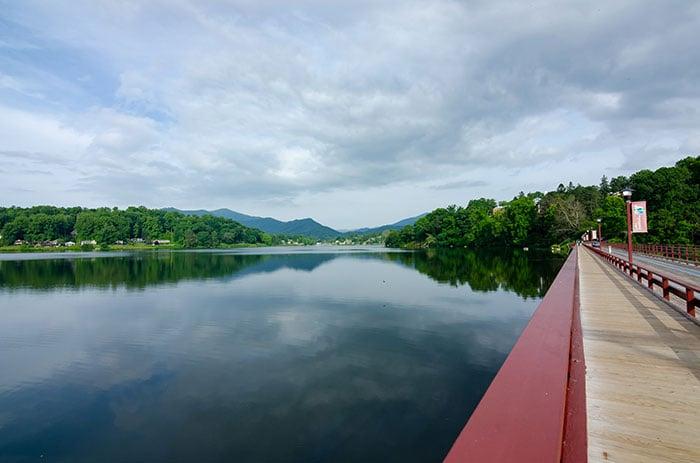 Lake Junaluska near Maggie Valley NC