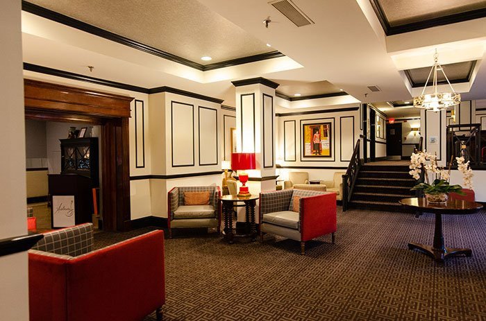 Lobby at The Dunhill Uptown Charlotte