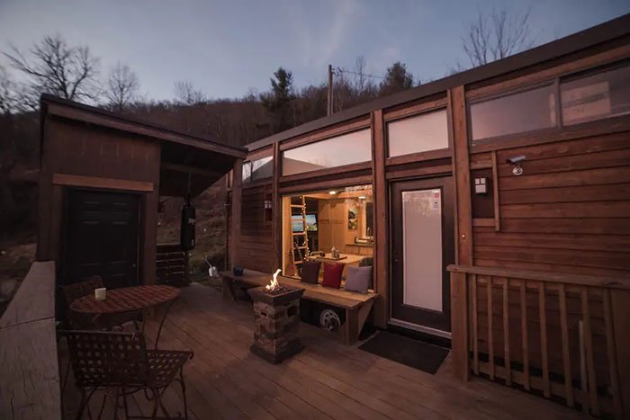 Mountainview Tiny House Boone Airbnb