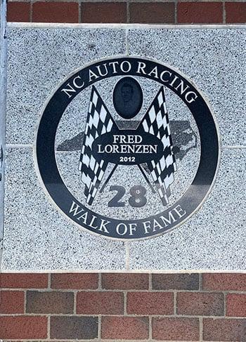 NC Auto Racing Walk of Fame Mooresville NC