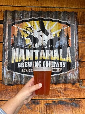 Nantahala Brewing Company Bryson City NC Beer