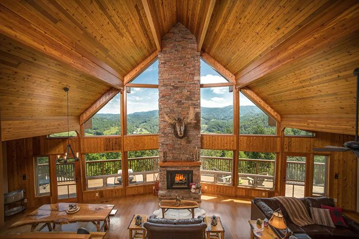 Open Living Grand Views Boone Airbnbs