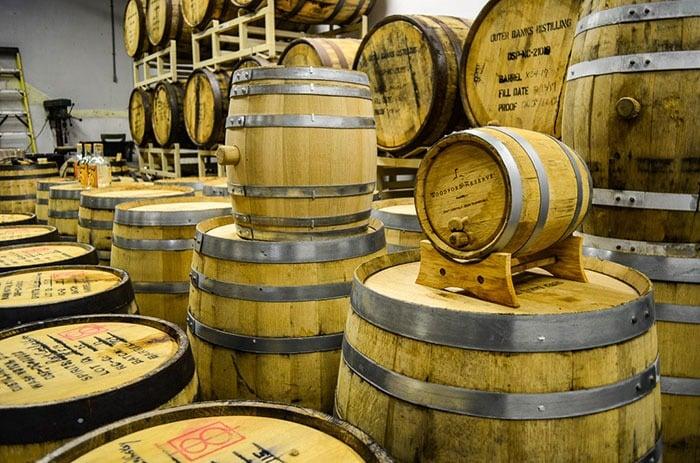 Outer Banks Distilling Barrels