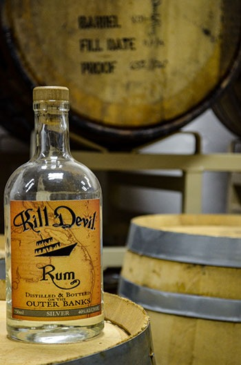 Outer Banks Distilling Kill Devil Rum