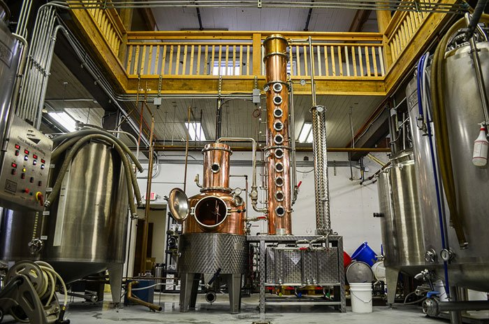 Outer Banks Distilling Production Floor