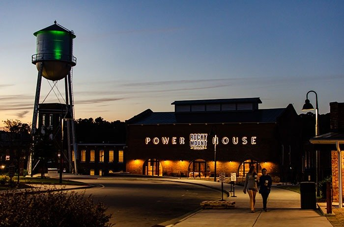 The Power House at Rocky Mount Mills