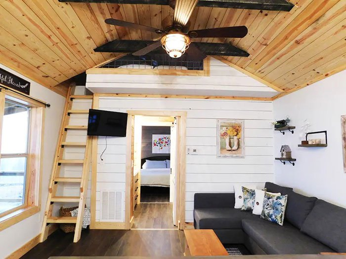 Tiny Cabin Airbnb in Boone