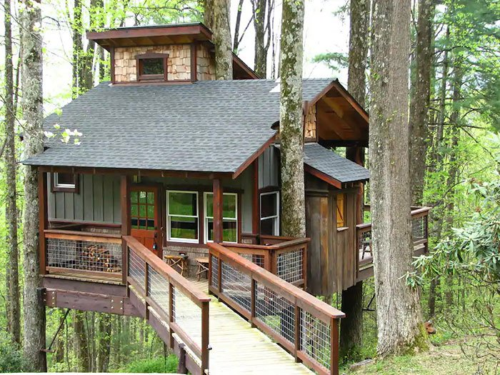 Treehouse on the Blue Ridge Parkway Boone Airbnb