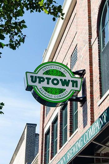 Uptown Brewing Breweries in Greenville NC