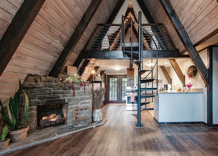 enchanting A frame Airbnb in Boone