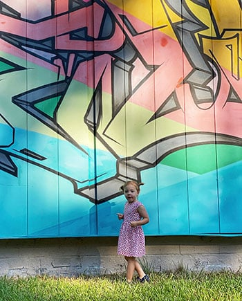 things to do with kids in Durham NC Murals