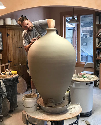 Ben Owen III Seagrove Pottery Image Courtesy of Ben Owen Pottery Taken by Jerry Wolford