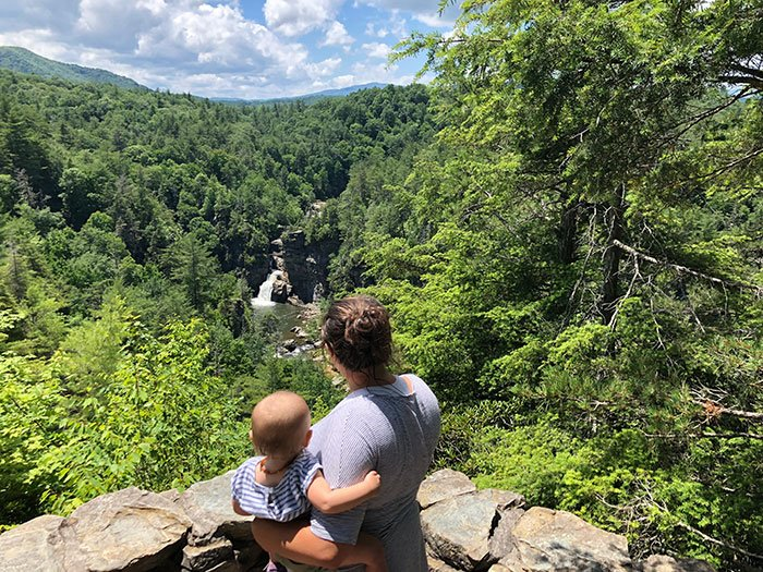 Day Trips from Boone NC Linville Falls