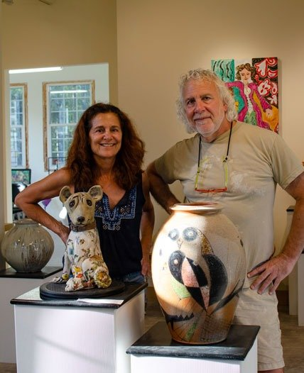 Johnston and Gentithes Pottery and Sculpture Seagrove NC