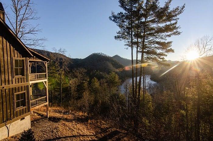 Romantic Getaways Views at Bear Lake Reserve