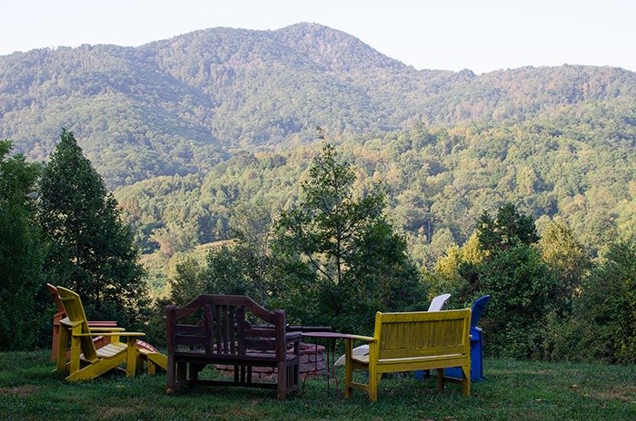 Romantic Getaways in North Carolina Engadine Inn and Cabins Candler near Asheville