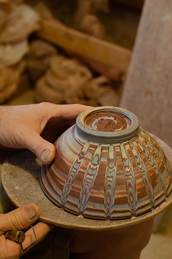 Seagrove Potters Eck McCanless Pottery