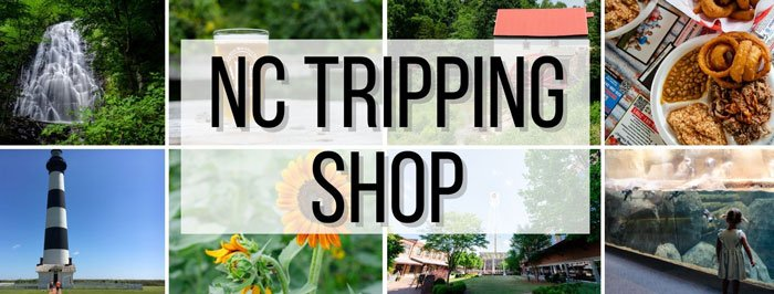 Check out the NC Tripping Shop for North Carolina Gifts ala Us!