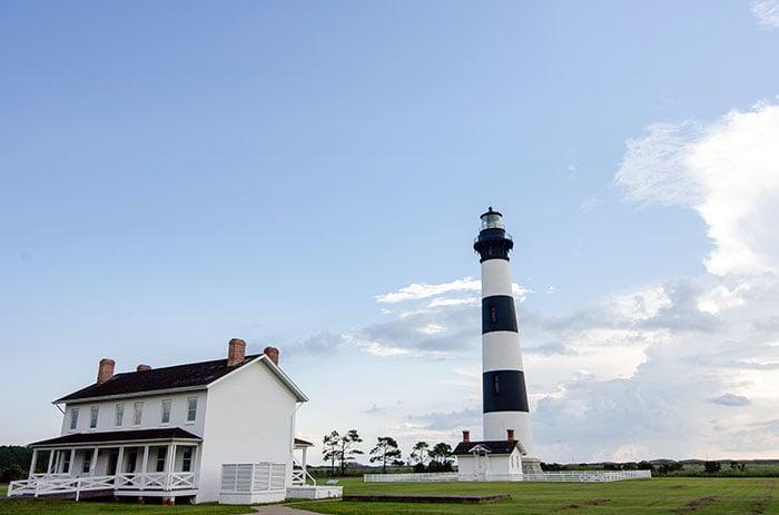 Eastern North Carolina Bodi Island Lighthouse Outer Banks