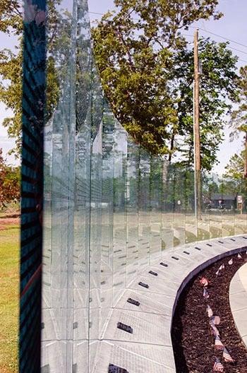 Eastern North Carolina Jacksonville Lejeune Memorial Gardens Vietnam Memorial