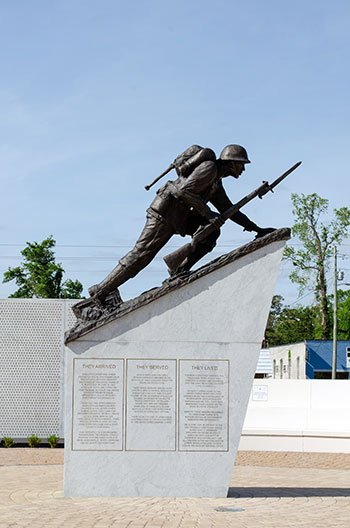 Eastern North Carolina Jacksonville Lejeune Memorial Gardens
