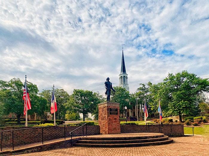 Eastern North Carolina Lafayette Memorial Fayetteville