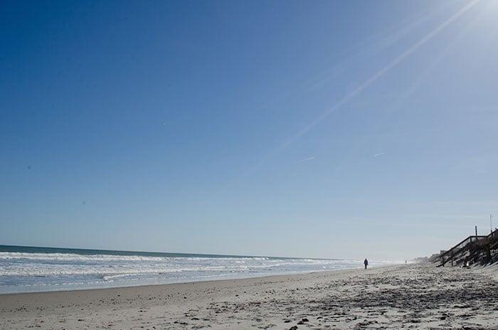 Eastern North Carolina Topsail Beach