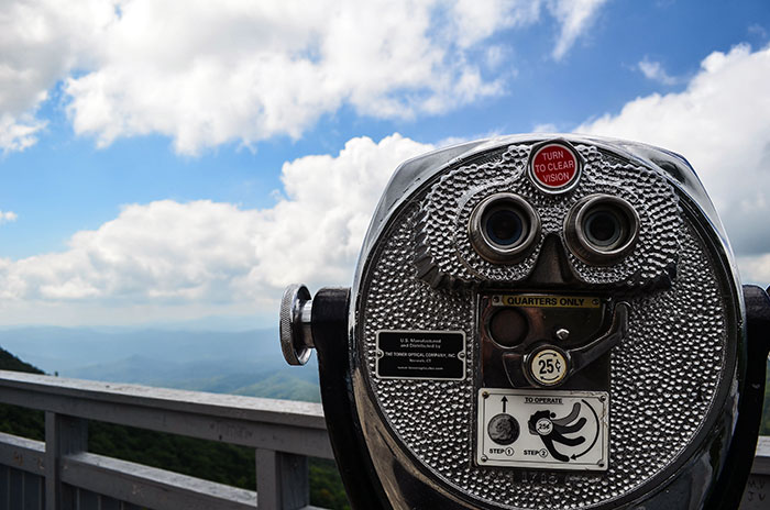 We absolutely think the views from the Blowing Rock are the main draw.