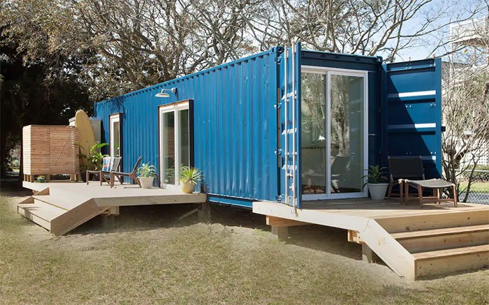 Tiny Houses in North Carolina Modern Beach Container Home 2