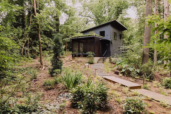 Tiny Houses in North Carolina Modern Tiny House in the Trees Durham