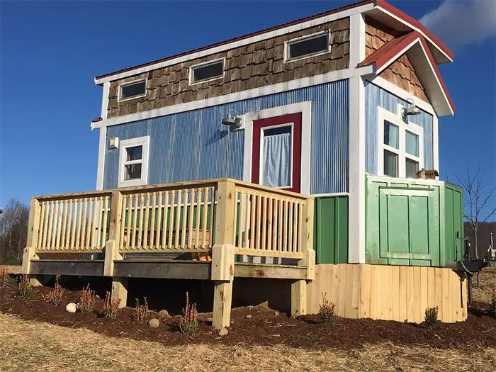 Tiny Houses in North Carolina Tiny house with great views