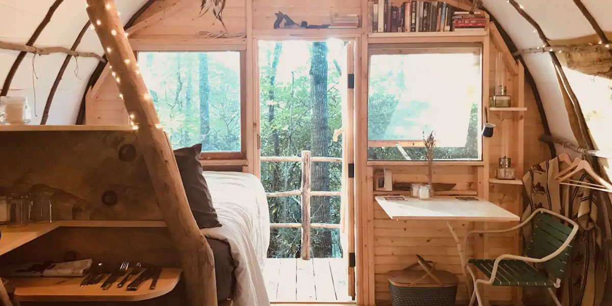 These tiny houses in North Carolina might win a medal for cutest places to stay!