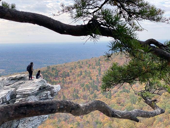 Western North Carolina Hanging Rock State Park