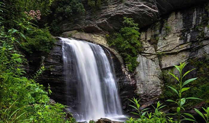 Western North Carolina Looking Glass Falls