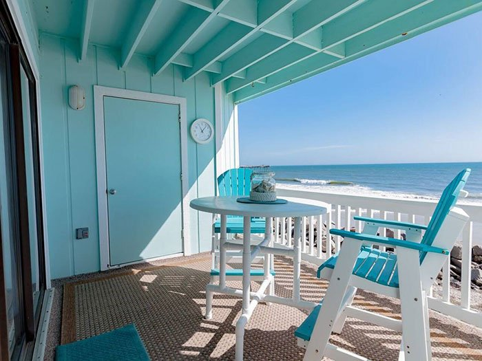 Airbnbs in Wilmington Breathtaking Oceanfront Views Photo Courtesy of Airbnb