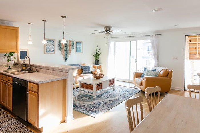 Airbnbs in Wilmington Here Comes the Sun Carolina Beach Photo Courtesy of Airbnb