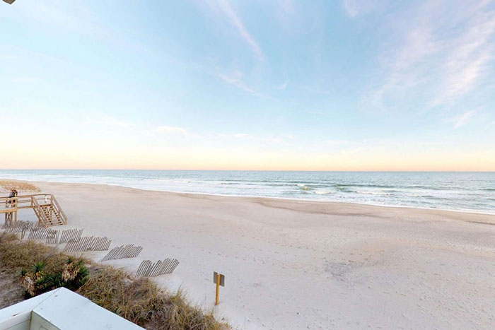 Airbnbs in Wilmington Oceanfront Condo Photo Courtesy of Airbnb