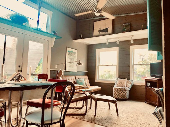 Airbnbs in Wilmington Quiet Carriage House Photo Courtesy of Airbnb