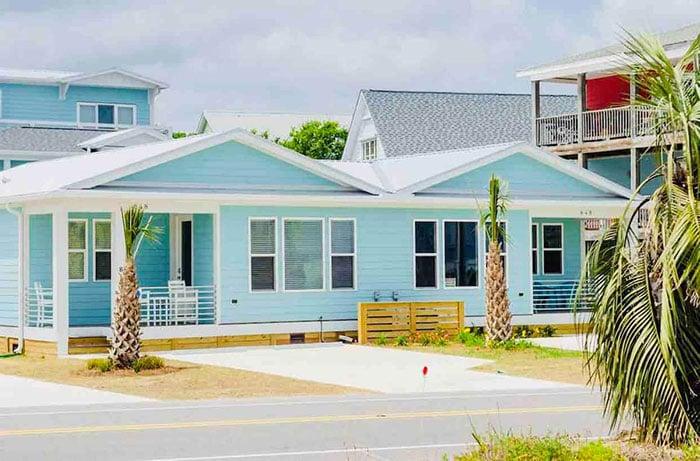 Airbnbs in Wilmington Sea Salt Escape Kure Beach Photo Courtesy of Airbnb
