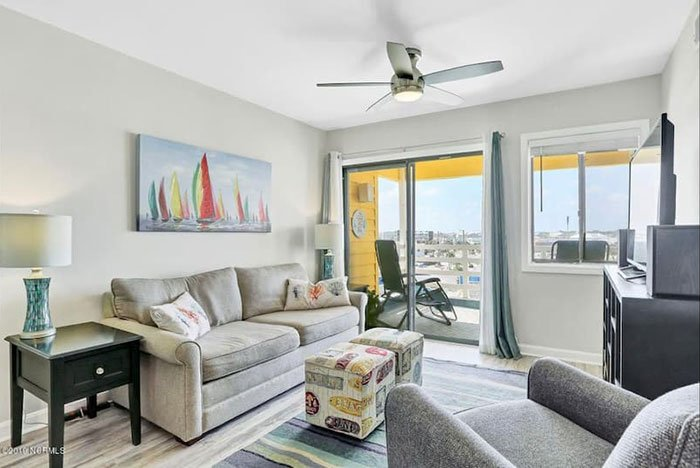 Airbnbs in Wilmington The Great Wave Carolina Beach Photo Courtesy of Airbnb