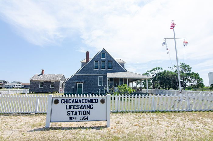 Black History in North Carolina Chicamacomico Life Saving Station Outer Banks Rodanthe