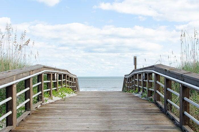Carolina Beach access Wilmington Beaches