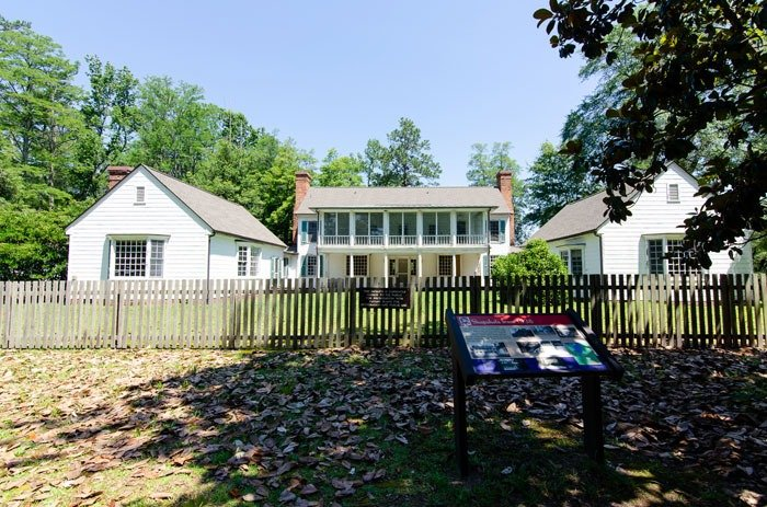 Seeing the Rockefeller Home is one of many Carvers Creek State Park highlights!