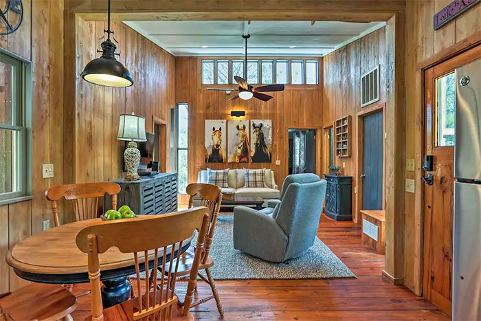 Frisco Outer Banks Island Cottage Image Courtesy of Airbnb