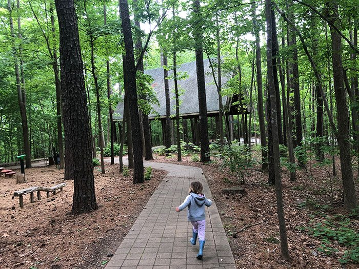 Walking around Hemlock Bluffs is clearly one of the best things to do in Cary, especially for outdoor lovers!