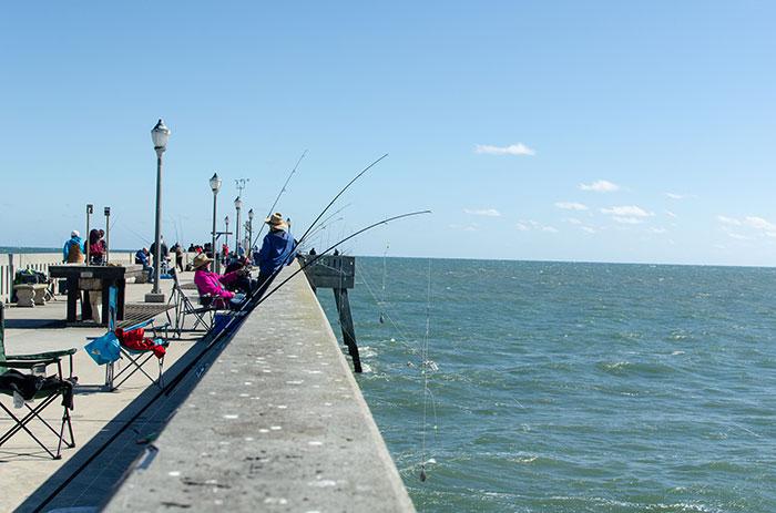 Johnnie Mercier Pier Wilmington Beaches