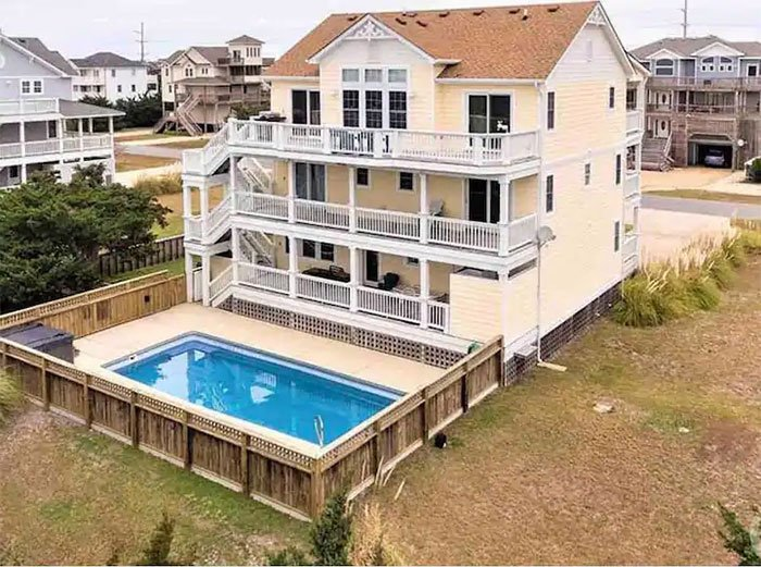 Kinnakeet OBX Sound Life Image Courtesy of Airbnb