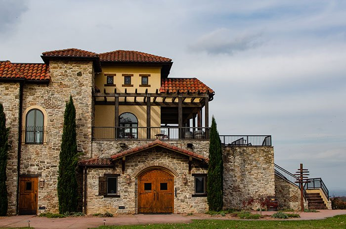 Of all the North Carolina wineries and vineyards, Raffaldini might be the most beautiful!