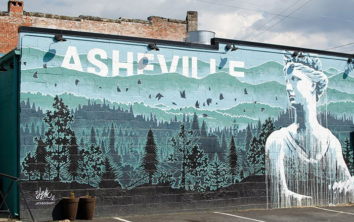 The first of our favorite weekend in North Carolina is Asheville and not just because of ABC order!